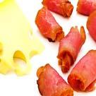 Bacon cheeseburger broodjes