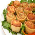 Mini worst quiches