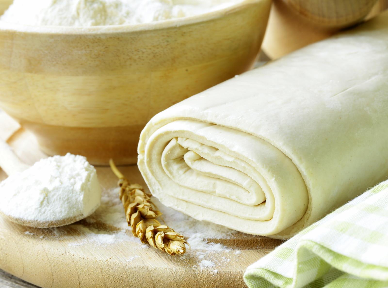 bladerdeeg maken zonder boter